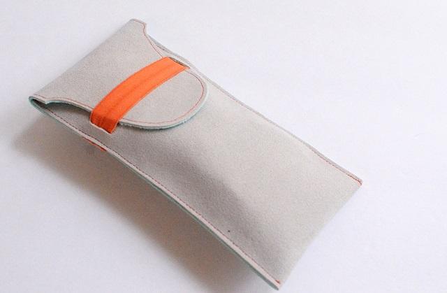 Tutorial: Easy elastic band sunglasses case