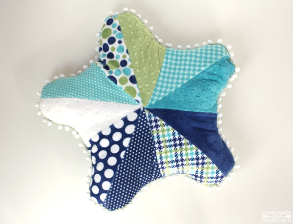 Free Pattern Starfish Cuddle Pillow Sewing