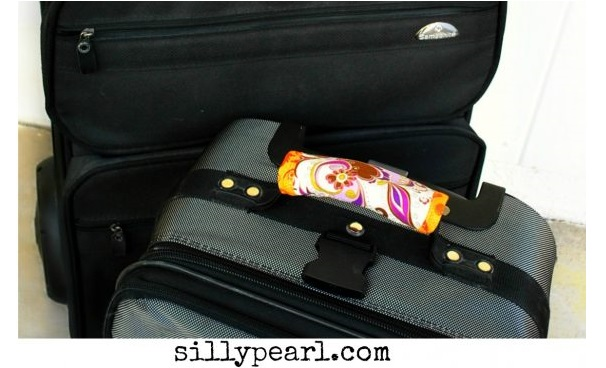 Tutorial: Luggage handle wrap