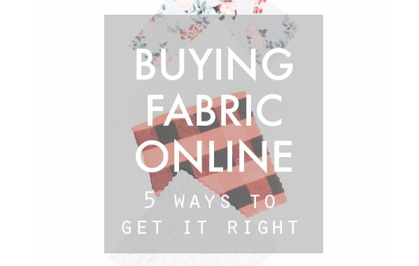 5 tips for buying fabric online