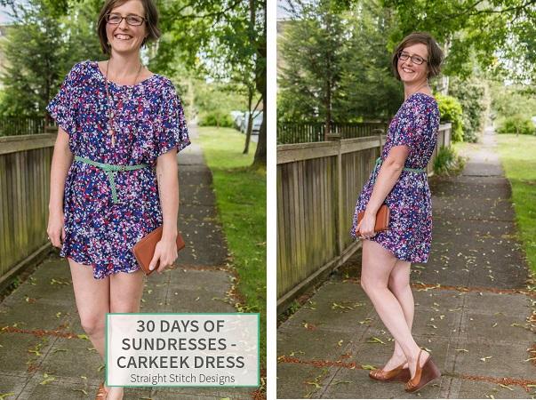 Free pattern: Carkeek Dress