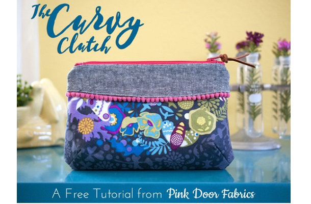 Free pattern: The Curvy Clutch