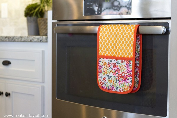 Tutorial: Double pot holder with pockets