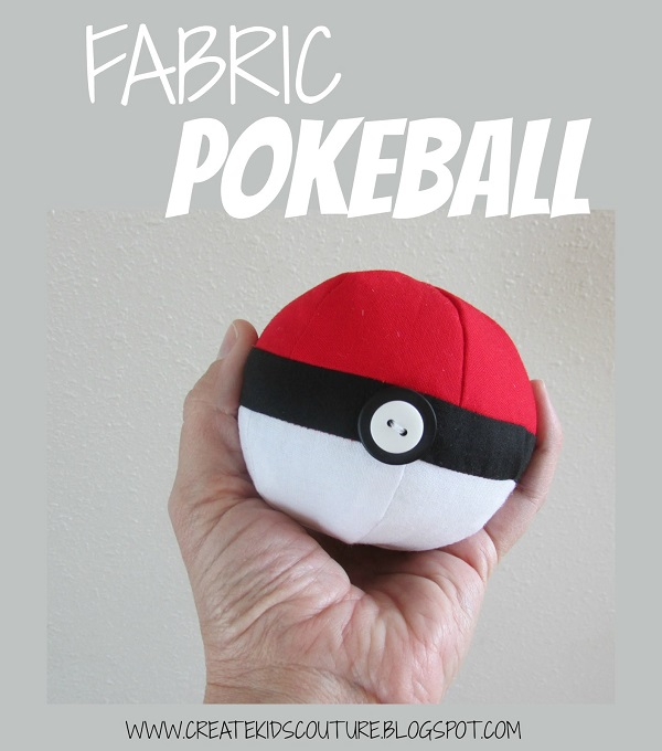 CKC Fabric Pokeball