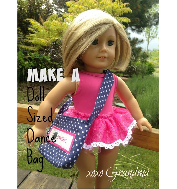 Tutorial: Dance tote bag for a doll