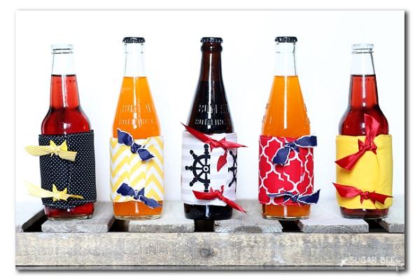 Tutorial: Summer drink cozies