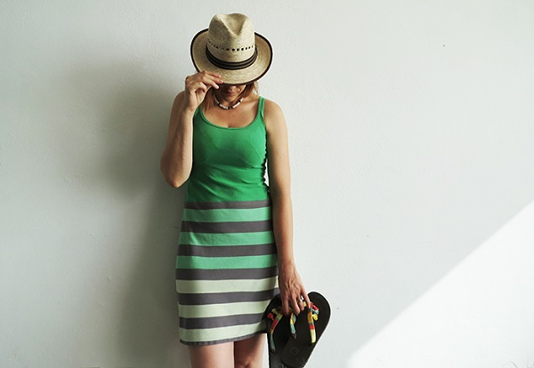 Tutorial: Easy summer dress from old shirts