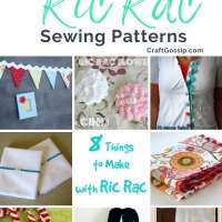 8 Things to Make with Ric Rac