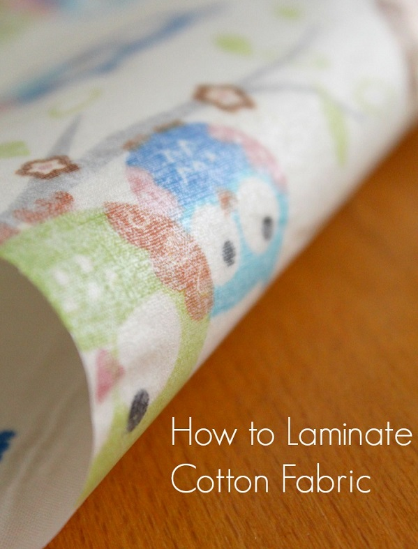 Tutorial: Make your own laminated cotton fabric