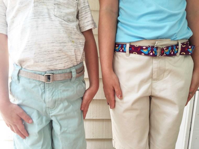 Tutorial: Easy D-ring belts
