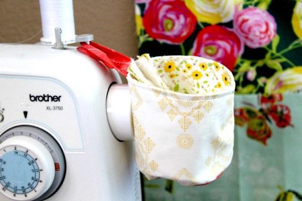 Tutorial: Sew a hanging thread catcher