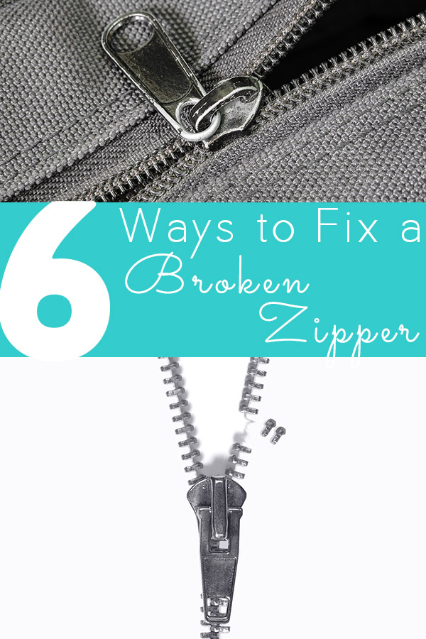 Round-up: 6 ways to fix a broken zipper