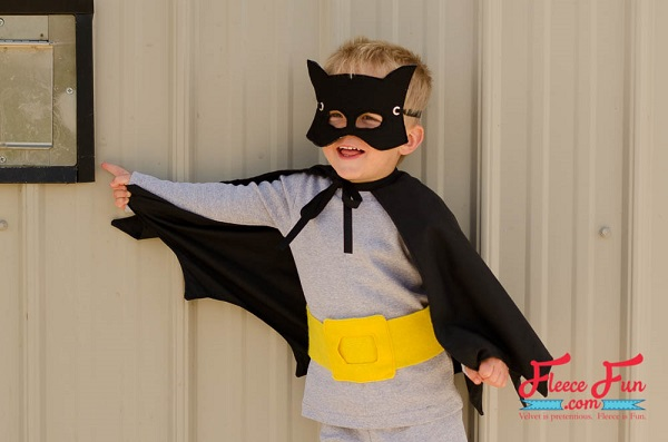 Free pattern: Batman costume for little kids