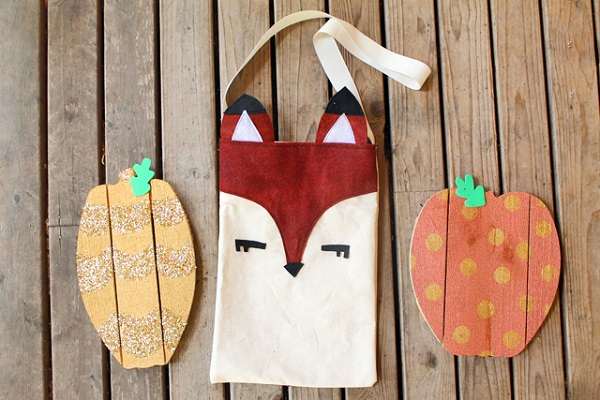 Free pattern: Woodland fox tote bag