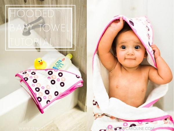 Tutorial: Hooded baby towel