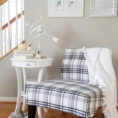 Upholstered Dining Chairs Target Folding Chair With Tablet Arm Tutorial: Slipcover For A Slipper – Sewing