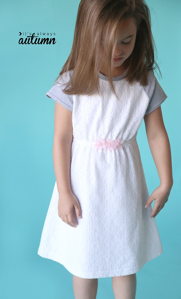 Free Pattern Play All Day Dress With Raglan Sleeves Sewing