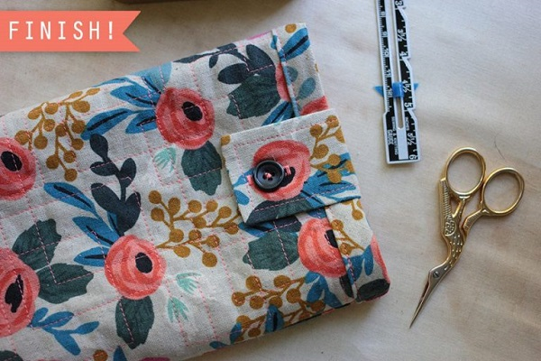 Tutorial: Quilted tablet sleeve