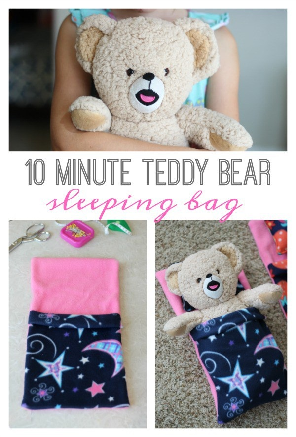 Tutorial: Teddy bear sleeping bag