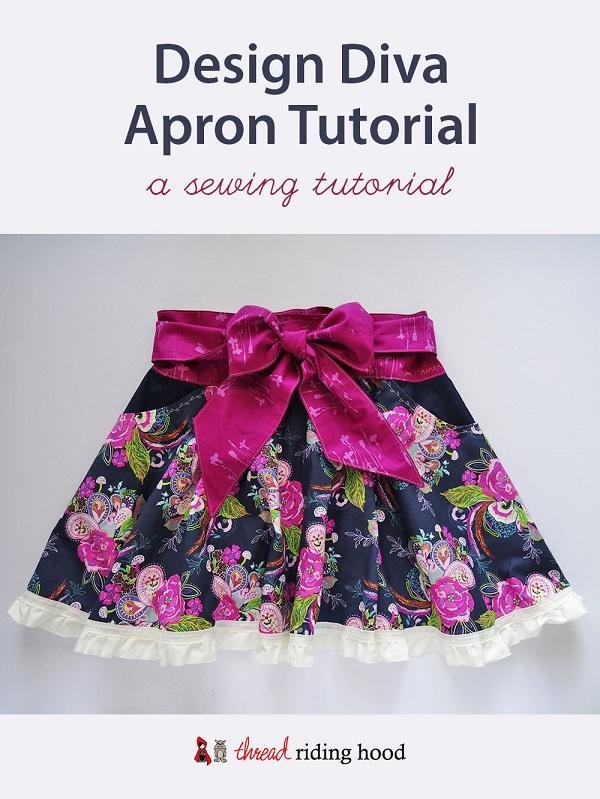 Tutorial: Design Diva circle skirt apron – Sewing
