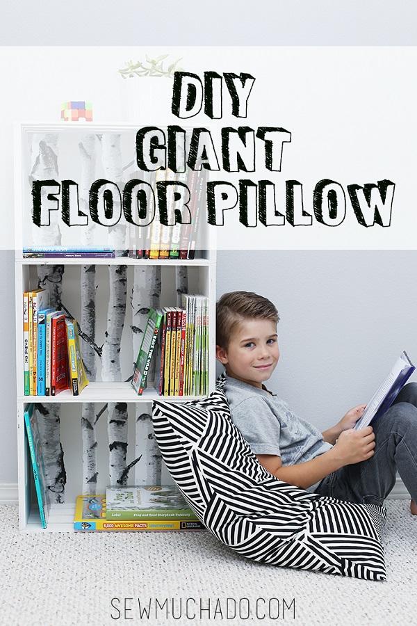 Tutorial: Giant floor cushion
