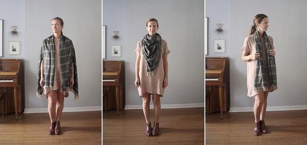 Tutorial: Sew a versatile cape-scarf for fall layering