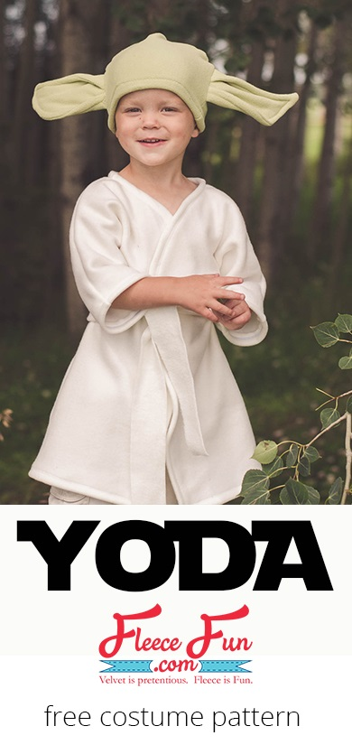 Tutorial: Fleece Yoda costume