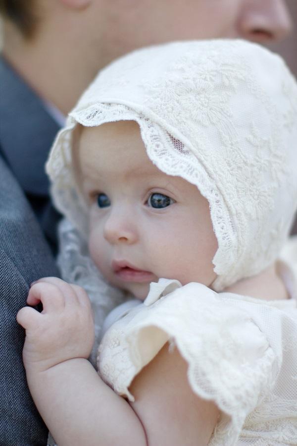 Tutorial: Lace baby bonnet