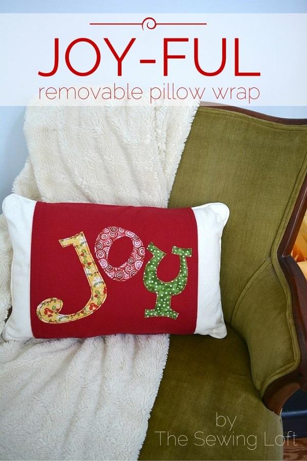 Tutorial: Joy pillow wrap