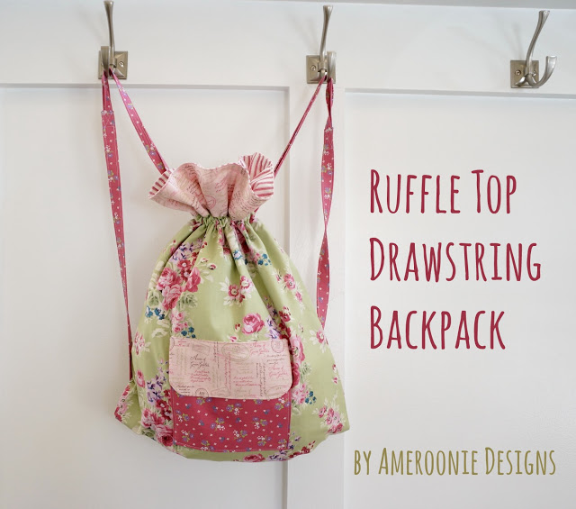 ruffle-top-drawstring-backpack