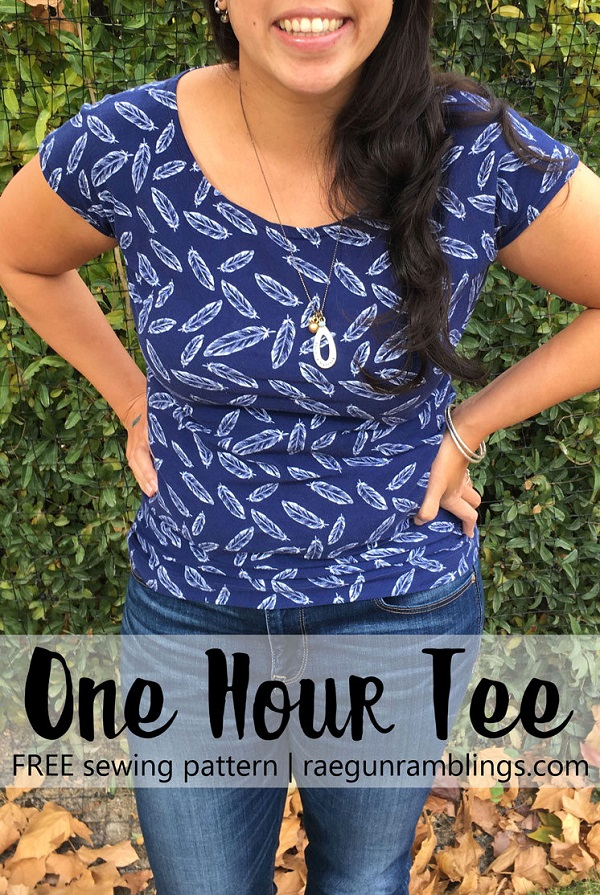 Free pattern: 1 hour t-shirt