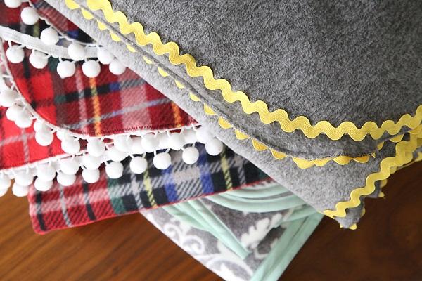 Tutorial: 3 easy ways to make a fleece blanket