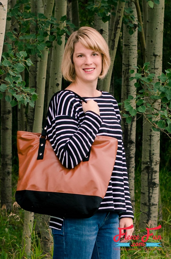 Tutorial: Leather tote bag