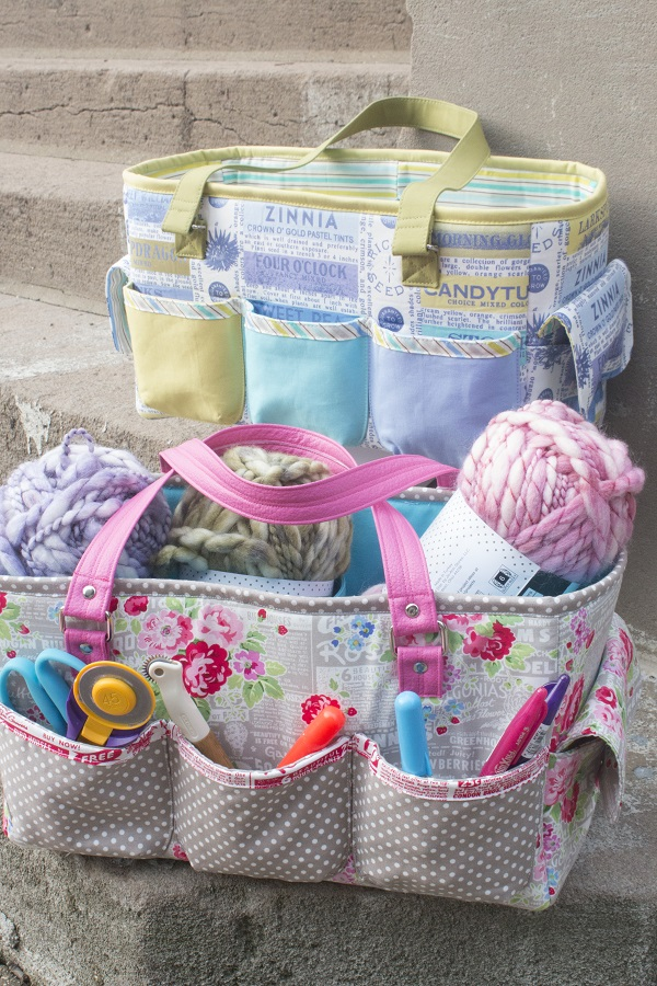 Free pattern: Oslo Craft Bag