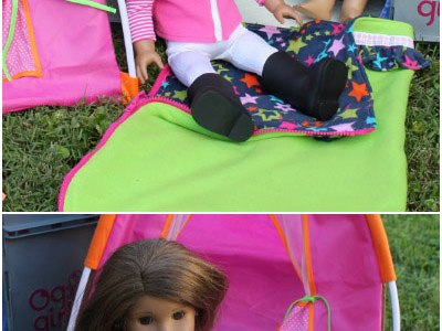 Tutorial: Fleece sleeping bag for an 18″ doll