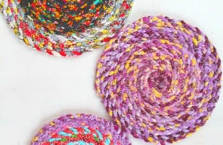 Tutorial: Fabric twine trivets