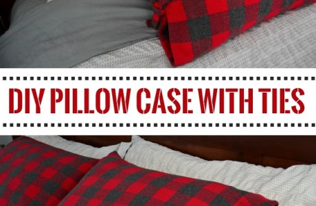 Tutorial: Side tie pillow case