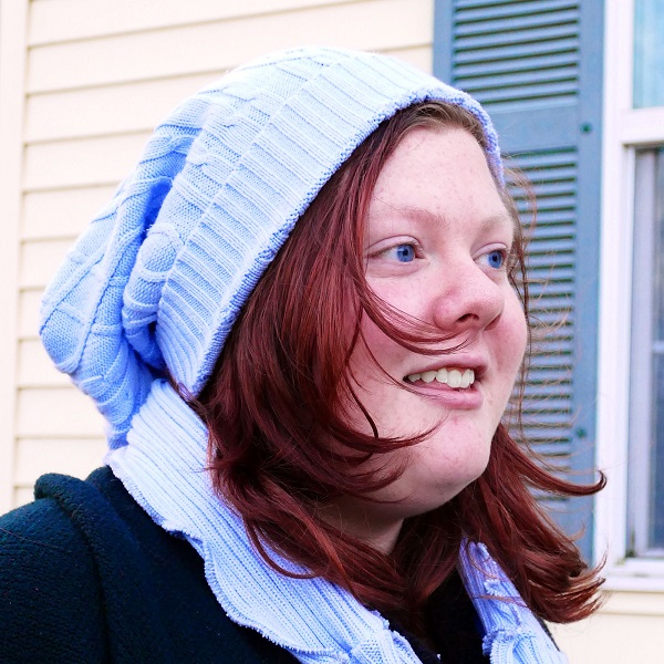 Tutorial: Upcycle a sweater into a hat, arm warmers, and scarf