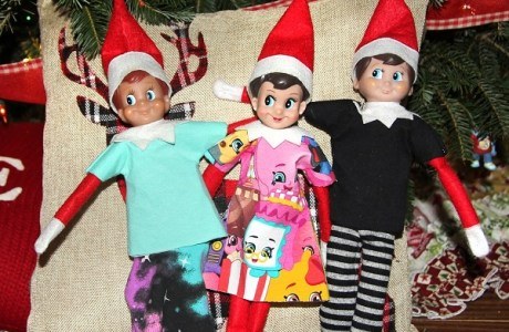 Free pattern: Elf on the Shelf clothes