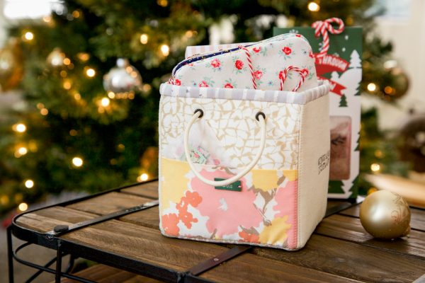 Tutorial: Mini fabric storage basket