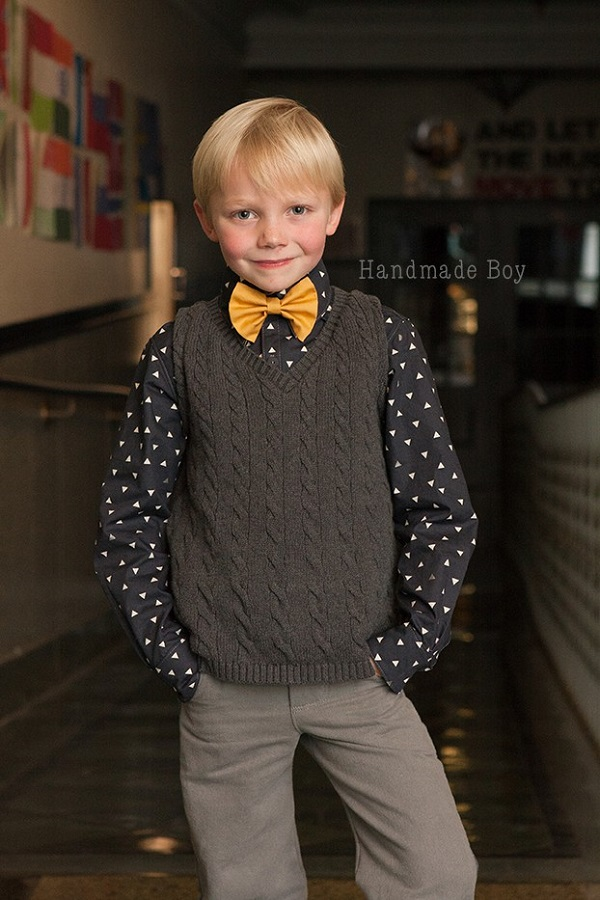 Tutorial: Make a sweater vest from a pullover sweater