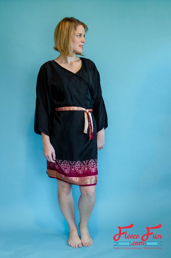 Free pattern: Womens kimono robe