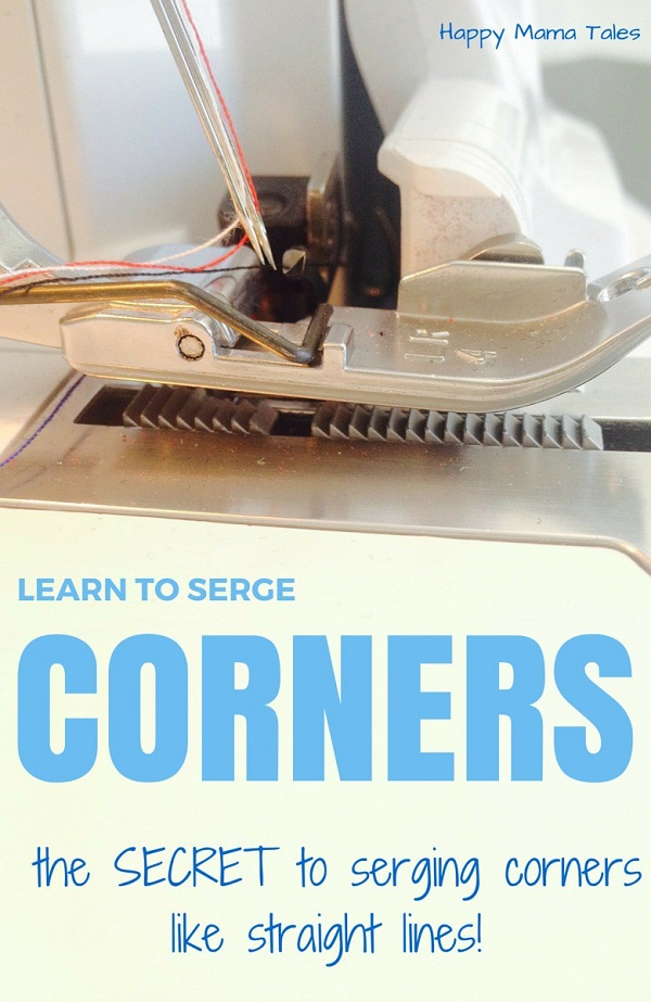 Tutorial: How to serge around corners