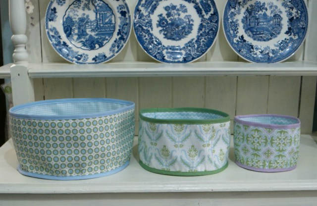 Tutorial: Round fabric baskets in any size