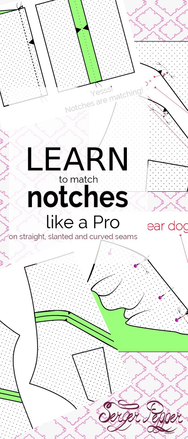 Tutorial: Use notches to keep your seams aligned