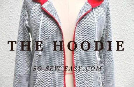 Free pattern: Women's zip front hoodie
