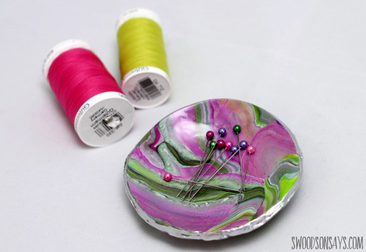 Tutorial: Marbled magnetic pin dish