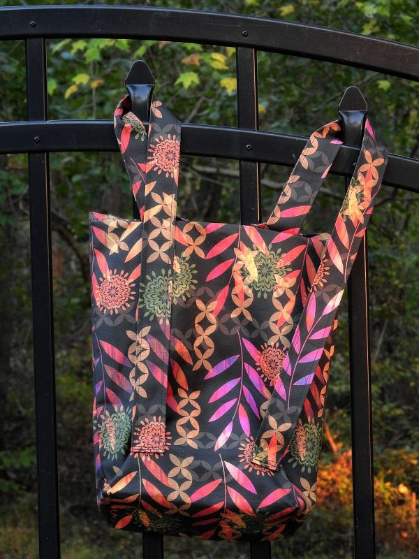Tutorial: Simple convertible backpack tote bag