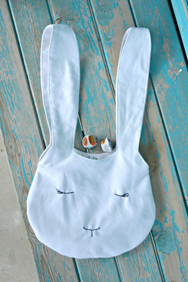 Tutorial: Easter bunny bag