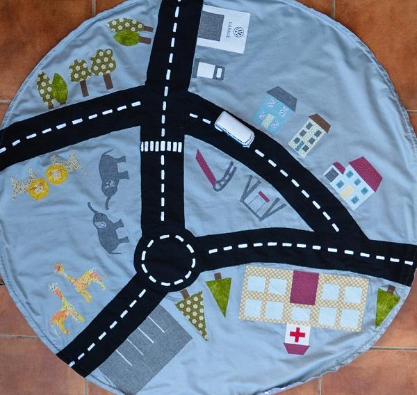 Tutorial Car Playmat And Drawstring Storage Bag Sewing